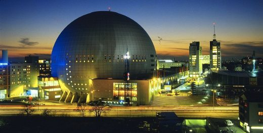 Globen in Stockholm - Swedish Architecture News