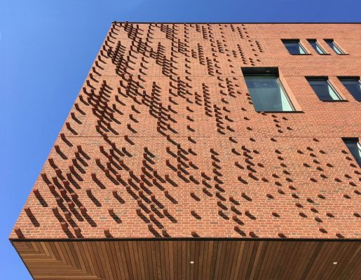 Institute for Data Science, University of Rochester brick facade