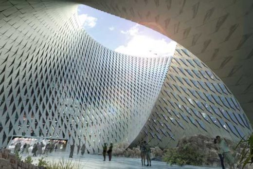 Kazakhstan National Library building design by BIG