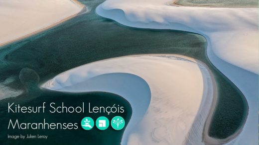 reTHINKING competitions: Lençóis Maranhenses Kitesurf School