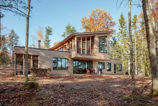 Long Reach Retreat in Harpswell - Modern Architecture in Maine Exhibition