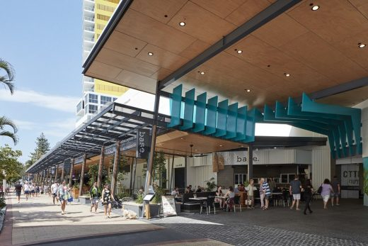 Oasis Shopping Centre at Broadbeach, Gold Coast