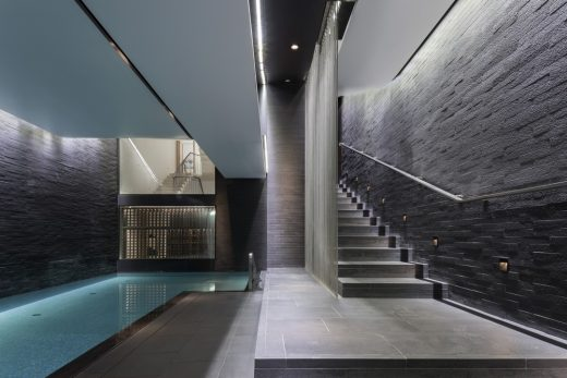 Orme Square Residence in Bayswater London