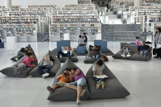 Qatar National Library in Doha