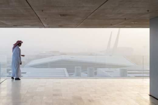 Qatar National Library in Doha by OMA