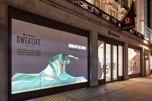Regent Street RIBA Windows Competition design
