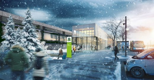 REM Architectural and Landscape Concept for Montreal Cityscape