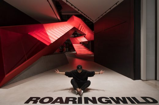 Roaringwild Uniwalk Shop Interior in Shenzhen