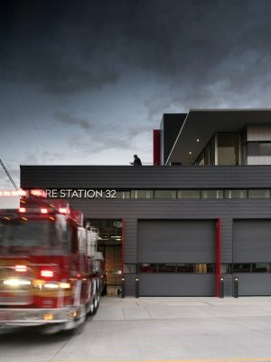 Seattle Fire Station 32 in Washington