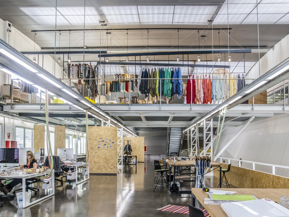 Sedatex textile factory near barcelona e architect - Architectural designers near me ...