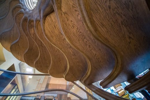 StairStalk Staircase for HIDE, 85 Piccadilly underside