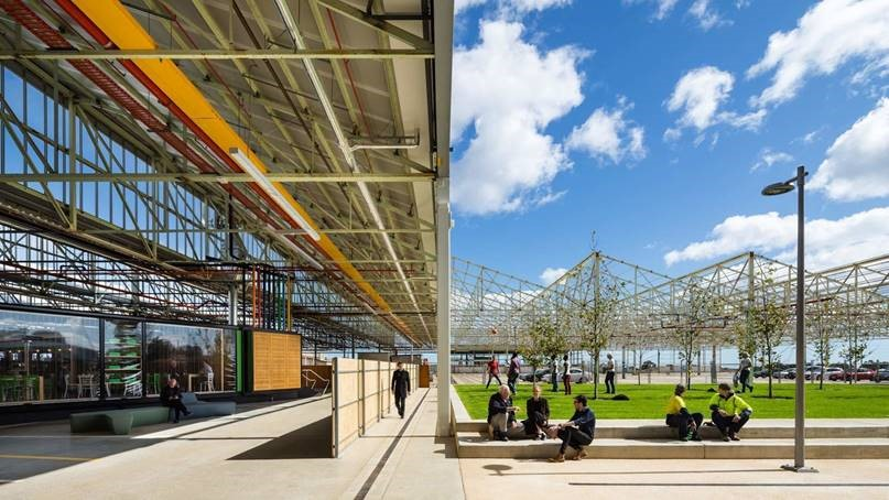 Tonsley main assembly building mab adelaide e architect for Architecture adelaide uni