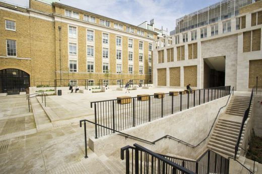 UCL Wilkins Terrace London Refurbishment