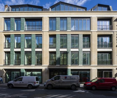 5-8 Warwick Street Building in Soho London by Squire and Partners Architects