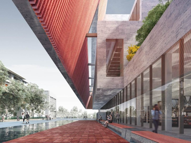 adelaide contemporary design proposal by adjaye associates