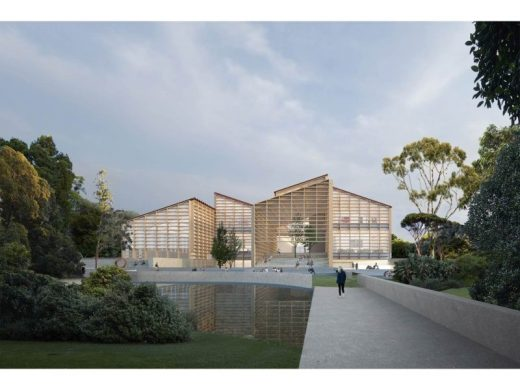 Adelaide Contemporary design by David Chipperfield Architects & SJB Architects