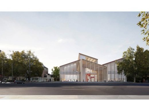 Adelaide Contemporary design proposal by David Chipperfield Architects & SJB Architects