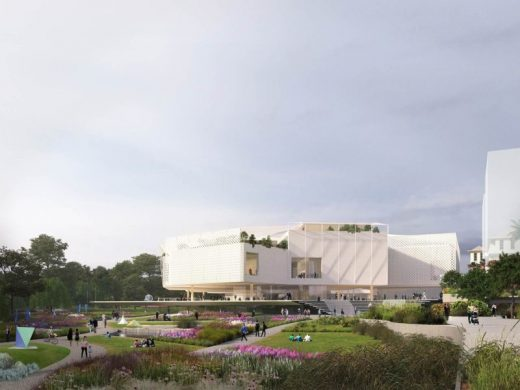 Adelaide Contemporary design proposal by HASSELL & SO - IL
