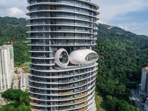 Arte S twin residential towers Penang buildings