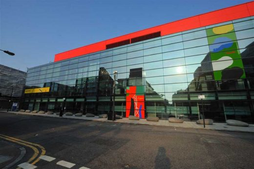 The Blizard Building by Will Alsop architect