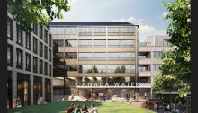Canada Water office building by Allies and Morrison