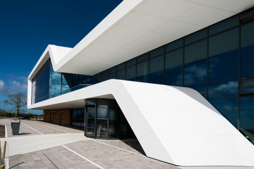 Corian Cladding for the new Menai Science Park Building