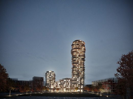 Discus Nacka City Landmark in Sweden by Swedish Architect Office