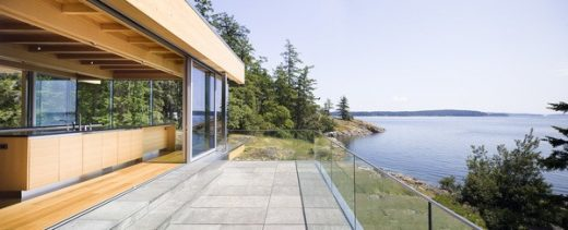 Salt Spring Island House in British Columbia design by RUFproject