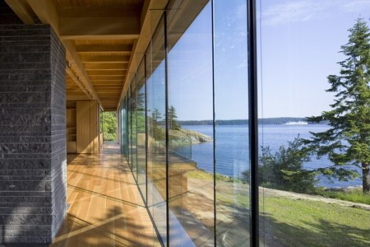 Gulf Islands Residence on Salt Spring Island British Columbia