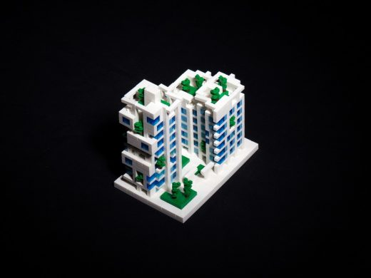 Kaohsiung Social Housing lego model