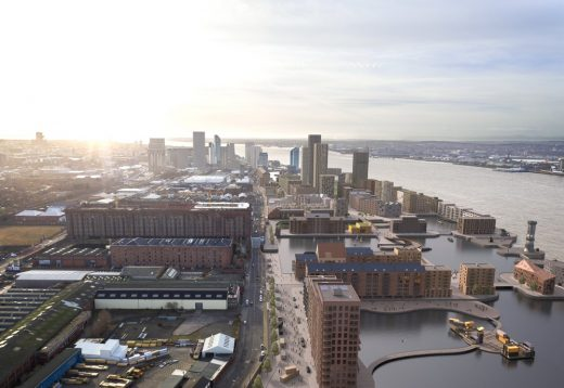Liverpool Waters Development design