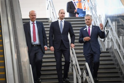 Duke of Cambridge at London Bridge Station
