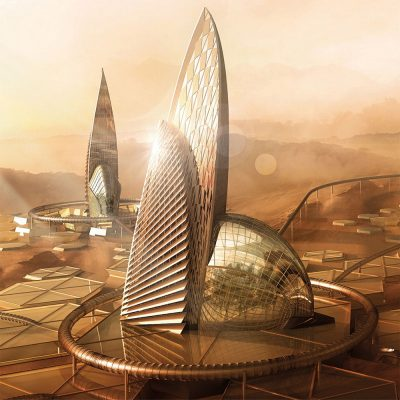 International Space Competition on Martian Vernacular Design hm14