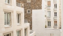 Massive Stone Social Housing Units in Paris