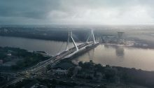 New Budapest Bridge by UNStudio