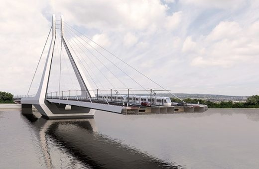 New Budapest Bridge design by UNStudio