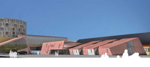 Queen Ingrid Hospital Greenland building design
