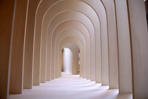 Installation by Alison Brooks Architects at 16th International Architecture Exhibition