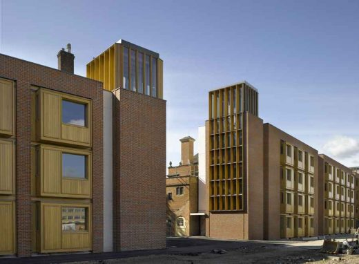 Student Accommodation Somerville College Oxford Architecture News
