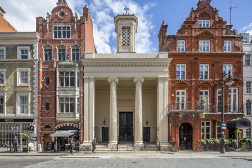 St Marks in Mayfair London