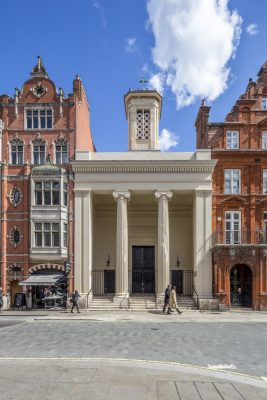 One Mayfair Church London Building
