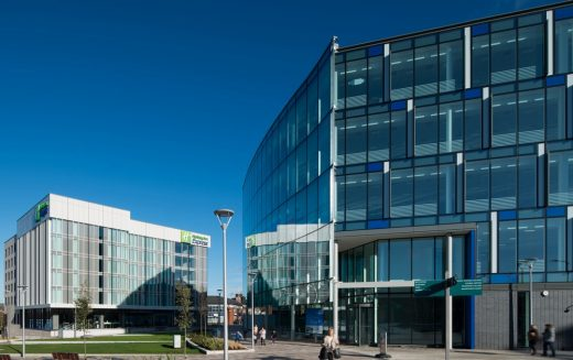 Stockport Exchange Phase Two Building design by Aedas Architects