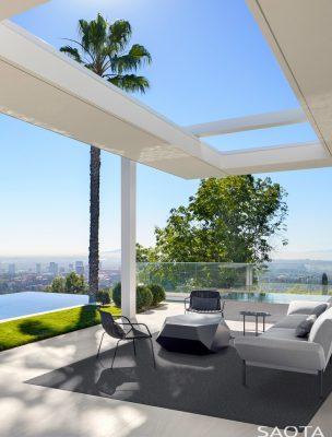 Stradella Residence in Bel-Air Los Angeles