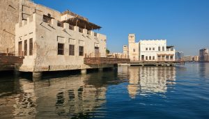 Al Seef Dubai Creek heritage buildings