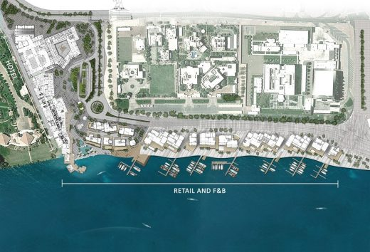 Al Seef Dubai Development layout by 10 DESIGN