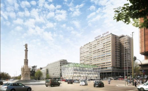 Axis in Madrid Building by Foster + Partners