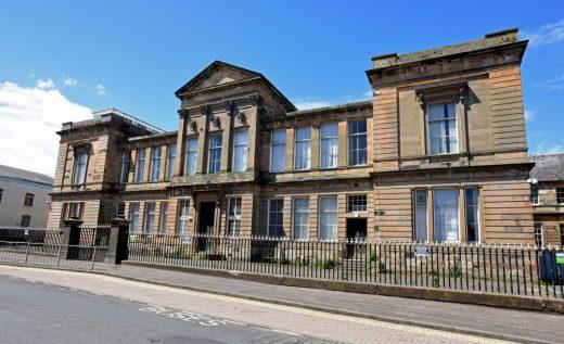 Ayr Academy building