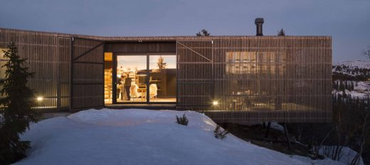 Cabin Kvitfjell by Lund Hagem Architects
