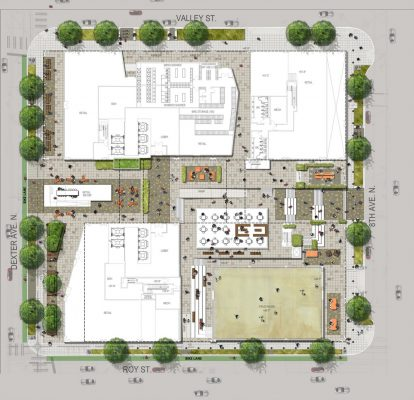 Dexter Yard South Lake Union plan