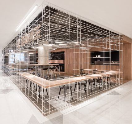 Dining Between Lines, Shanghai, China, by Lukstudio